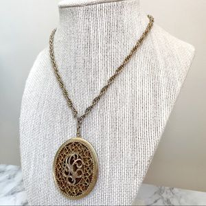 🎉5/20 SALE🎉 VTG Sarah Coventry filigree locket